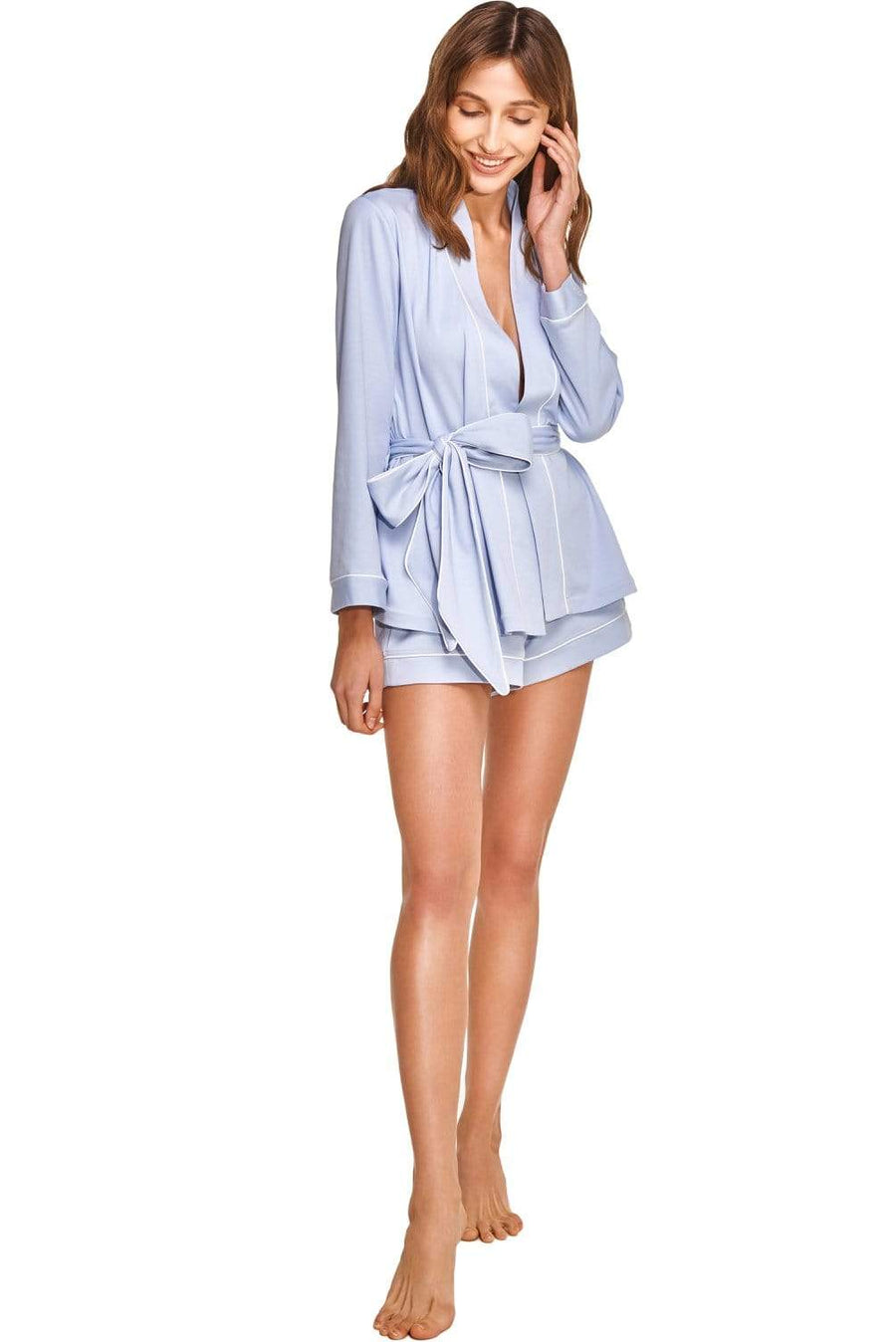 Slow Nature® Essentials Sleep & Loungewear LIMA three-piece sleep and loungewear set. Organic Pima Cotton. sustainable fashion ethical fashion