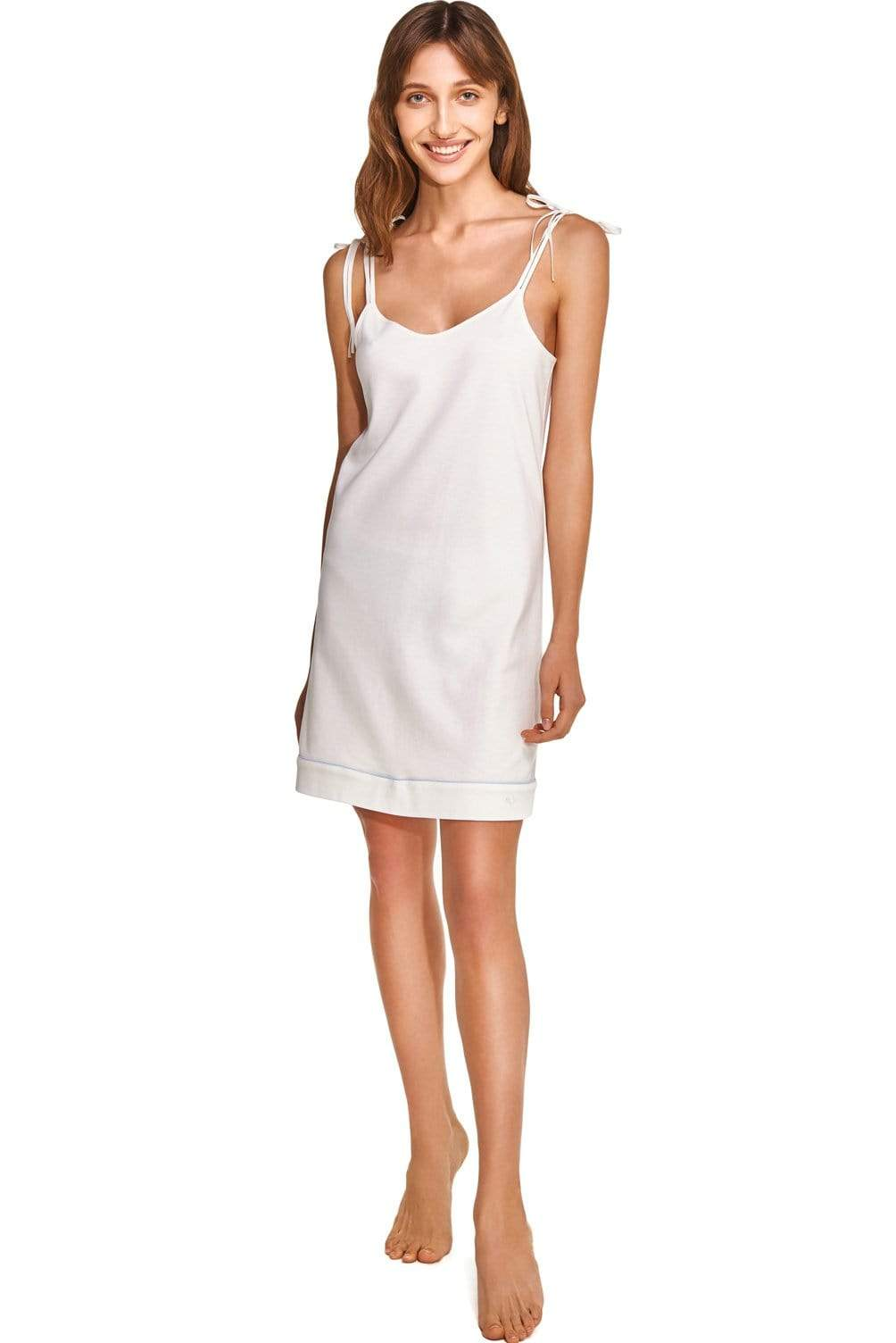 Slow Nature® Essentials Sleep & Loungewear Night Dress. Organic Cotton. sustainable fashion ethical fashion