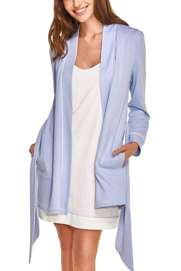 Slow Nature® Essentials Sleep & Loungewear Ensemble peignoir et robe de nuit en coton biologique. mode durable mode éthique