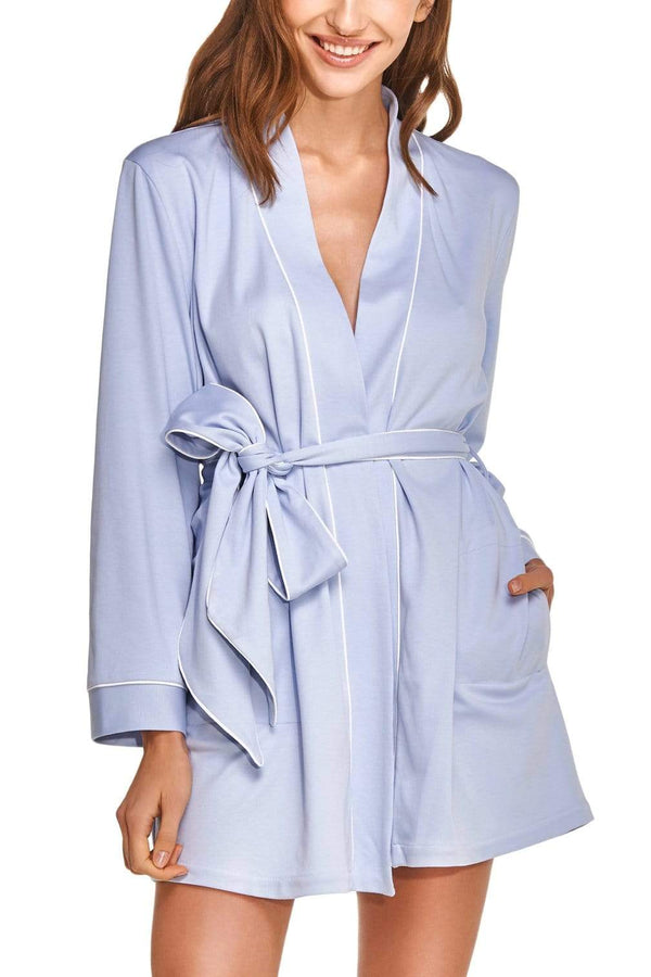 Slow Nature® Essentials Sleep & Loungewear ROBE i økologisk bomull. bærekraftig moteetisk mote