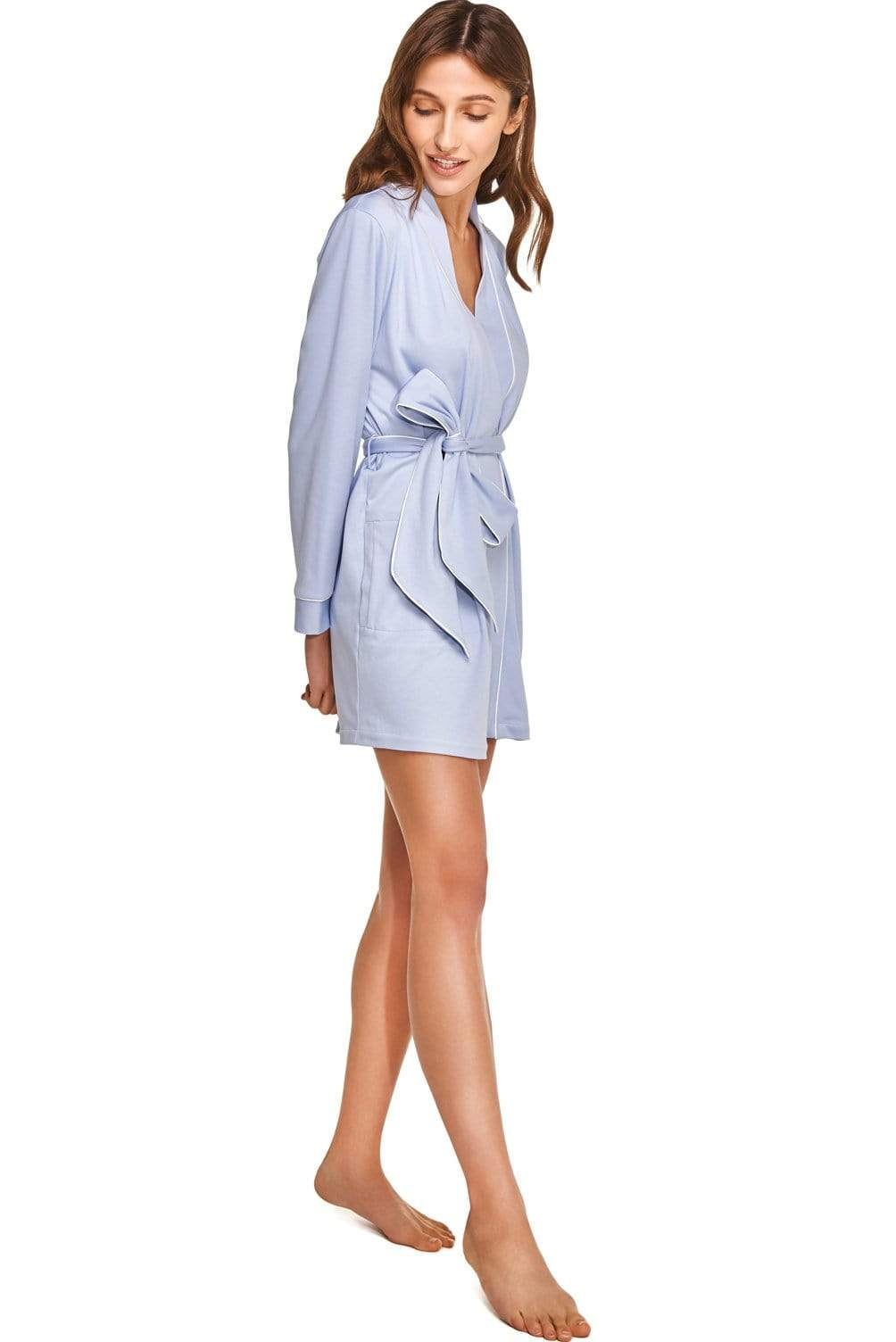 Slow Nature® Essentials Sleep & Loungewear ROBE in Organic Cotton. sustainable fashion ethical fashion