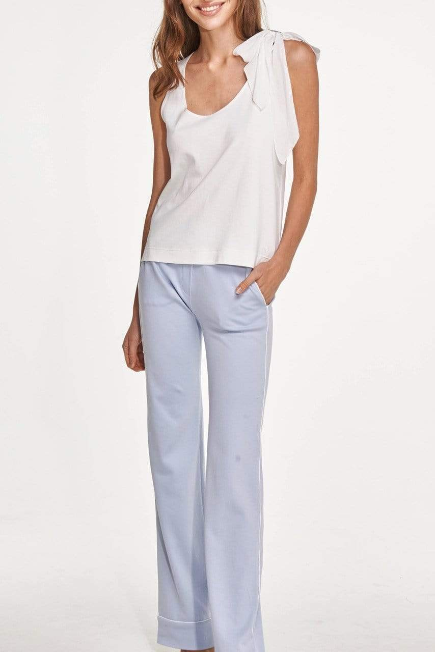 Slow Nature® Essentials Sleep & Loungewear Two-piece Loungewear set in Organic Cotton. sustainable fashion ethical fashion