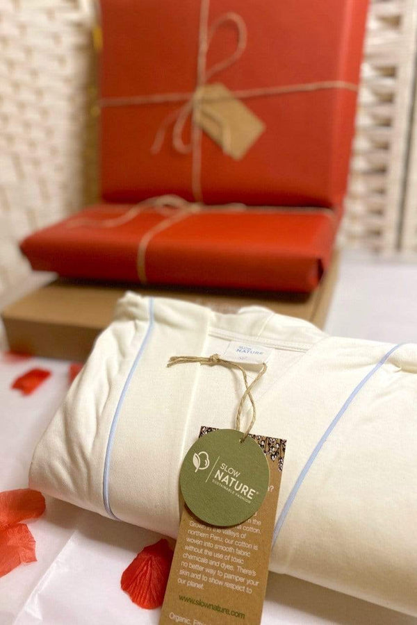 Slow Nature® Essentials Sleep & Loungewear Valentine's Box - Loungewear Sett bærekraftig moteetisk mote