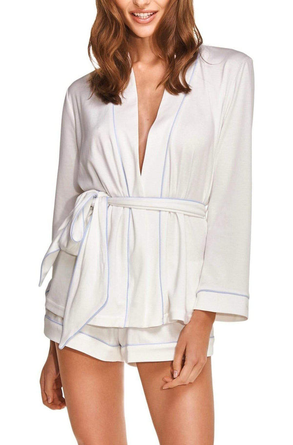 Women's 2-piece PJs in Luxurious Organic Cotton.