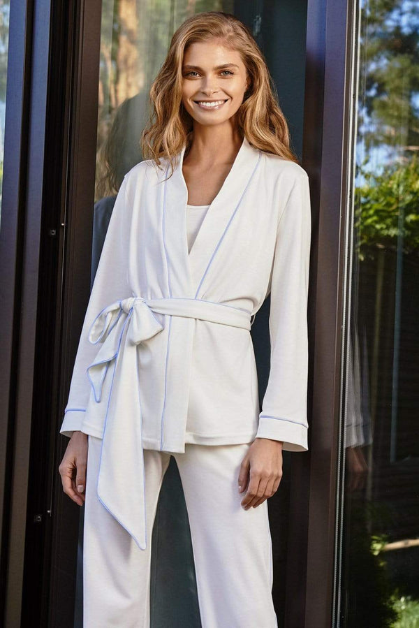Slow Nature® Essentials Sleep & Loungewear Women's 3-piece Loungewear set in Luxurious Organic Cotton. sustainable fashion ethical fashion