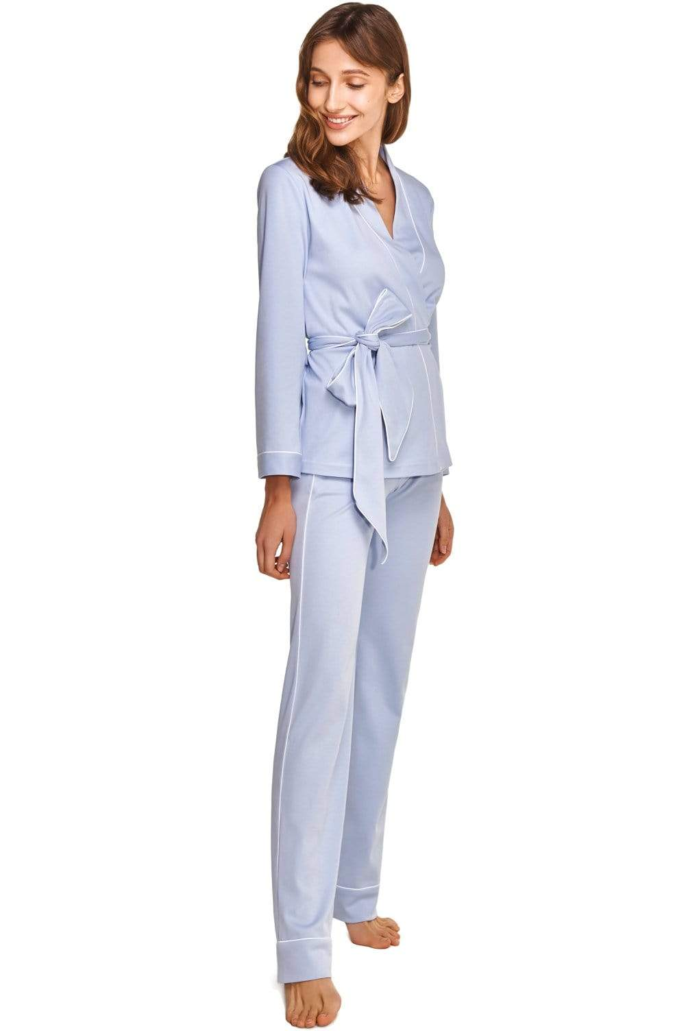 Slow Nature® Essentials Sleep & Loungewear Women's 3-piece Loungewear set in Organic Pima Cotton. sustainable fashion ethical fashion