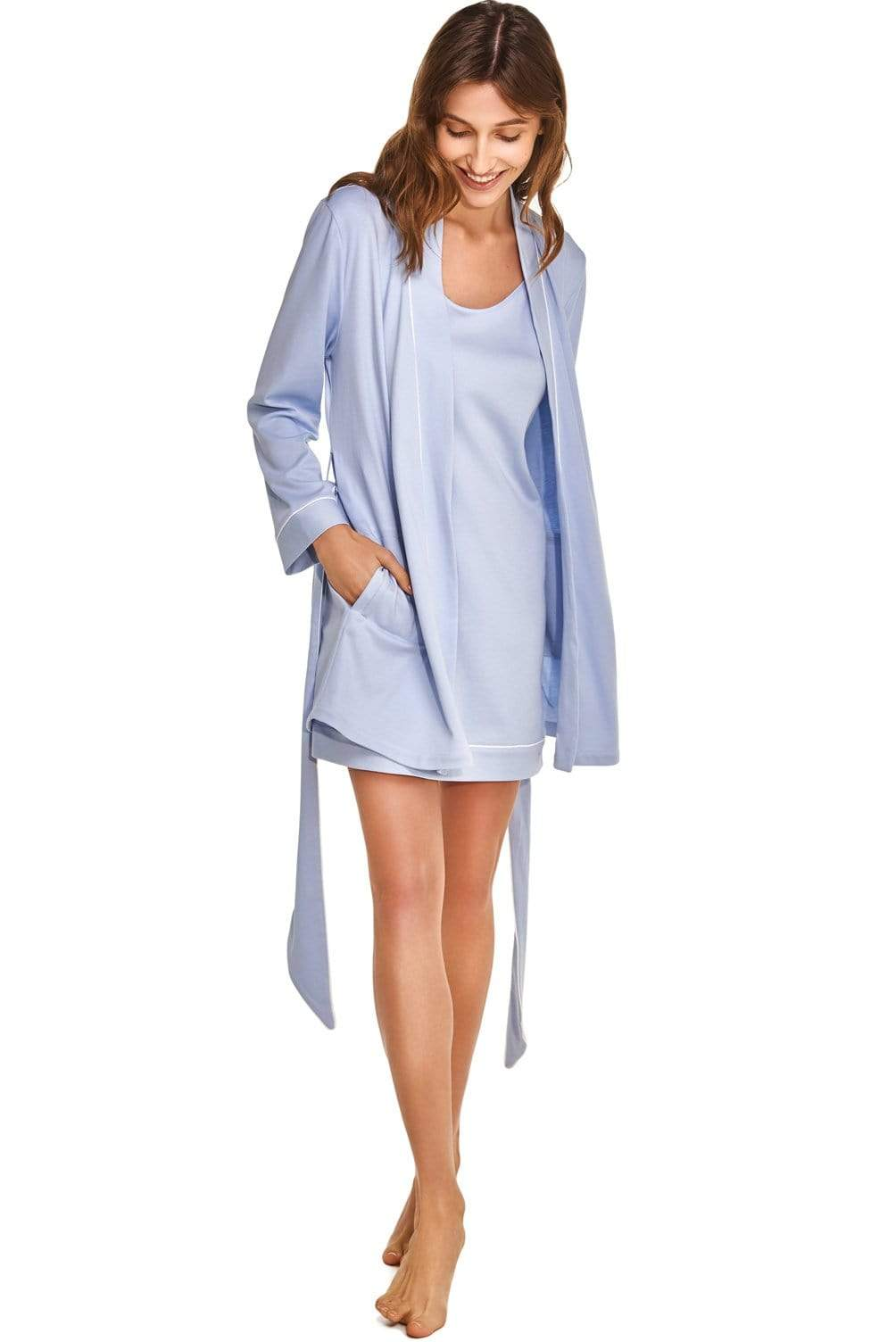Slow Nature® Essentials Sleep & Loungewear Women's Night Dress in Organic Luxury Cotton. sustainable fashion ethical fashion