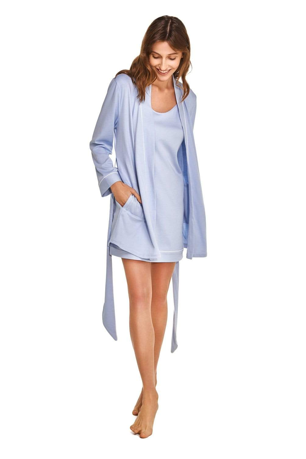 Slow Nature® Essentials Sleep & Loungewear XÈNIA two-piece set. Organic Cotton. sustainable fashion ethical fashion