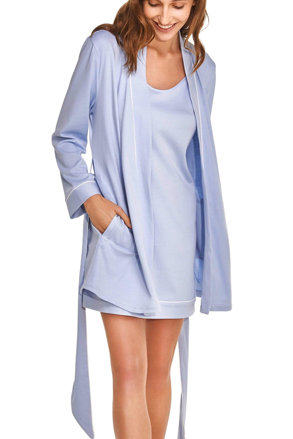 Ensemble deux pièces Slow Nature® Essentials Sleep & Loungewear XÈNIA. Coton organique. mode durable mode éthique