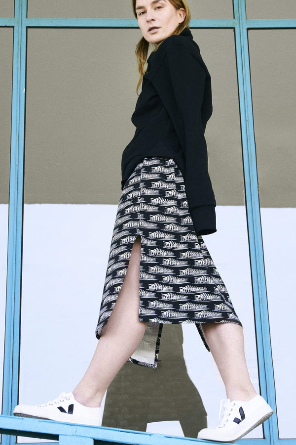 Sophia Schneider-Esleben skirt Ursula TubeSkirt. Organic Cotton. sustainable fashion ethical fashion