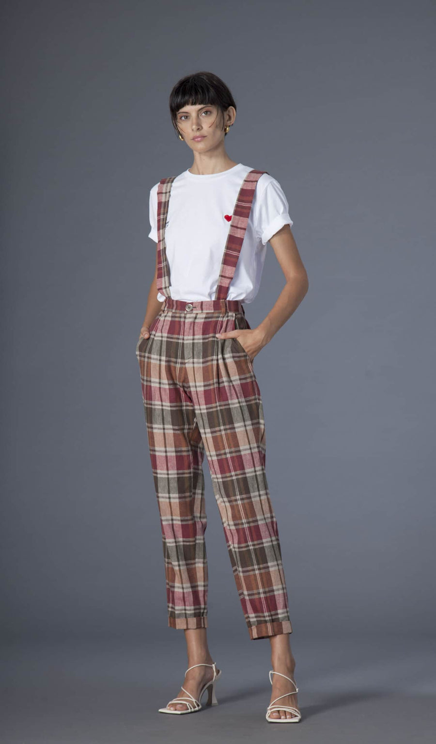 Souldaze Collection by Domitilla Mattei pants Jane trousers in Surplus Cotton sustainable fashion ethical fashion