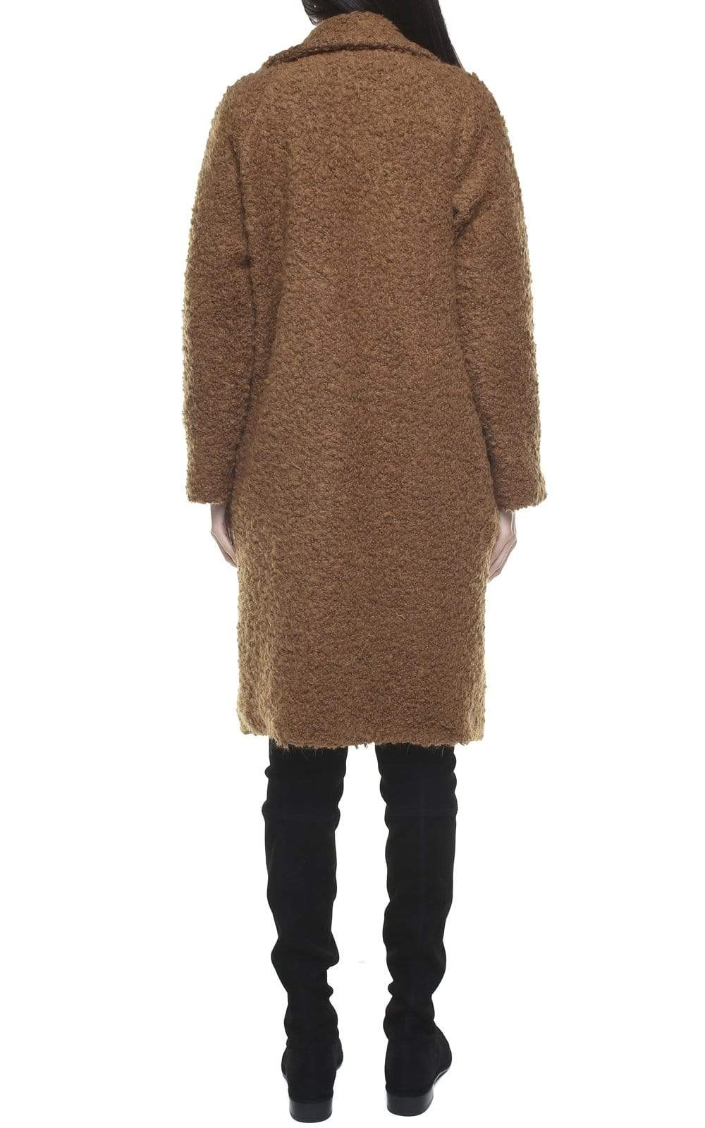 Souldaze Collection coat Janet Coat. Surplus Wool. sustainable fashion ethical fashion
