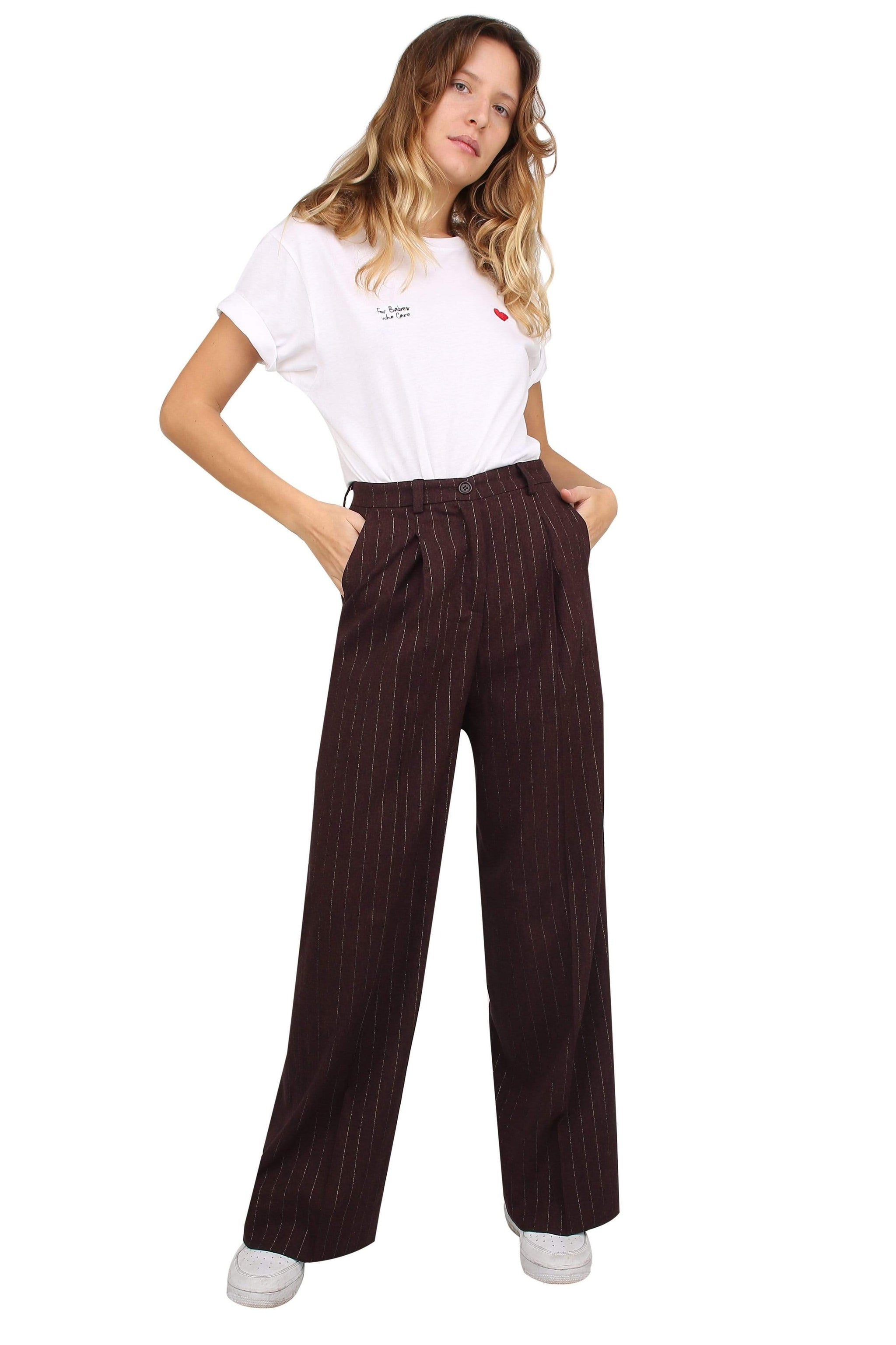 Pantalon Souldaze Collection Pantalon Isabel. Surplus de laine. mode durable mode éthique