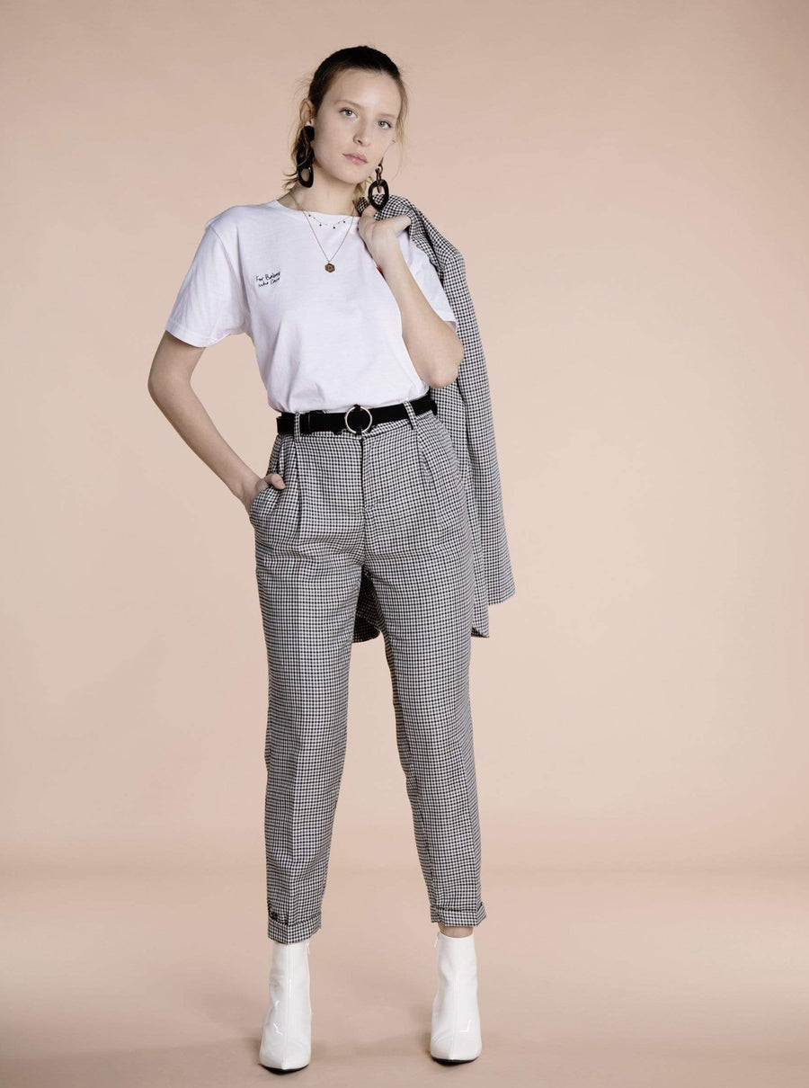 Souldaze Collection pant Jane Pants. Surplus Wool and Linen. sustainable fashion ethical fashion