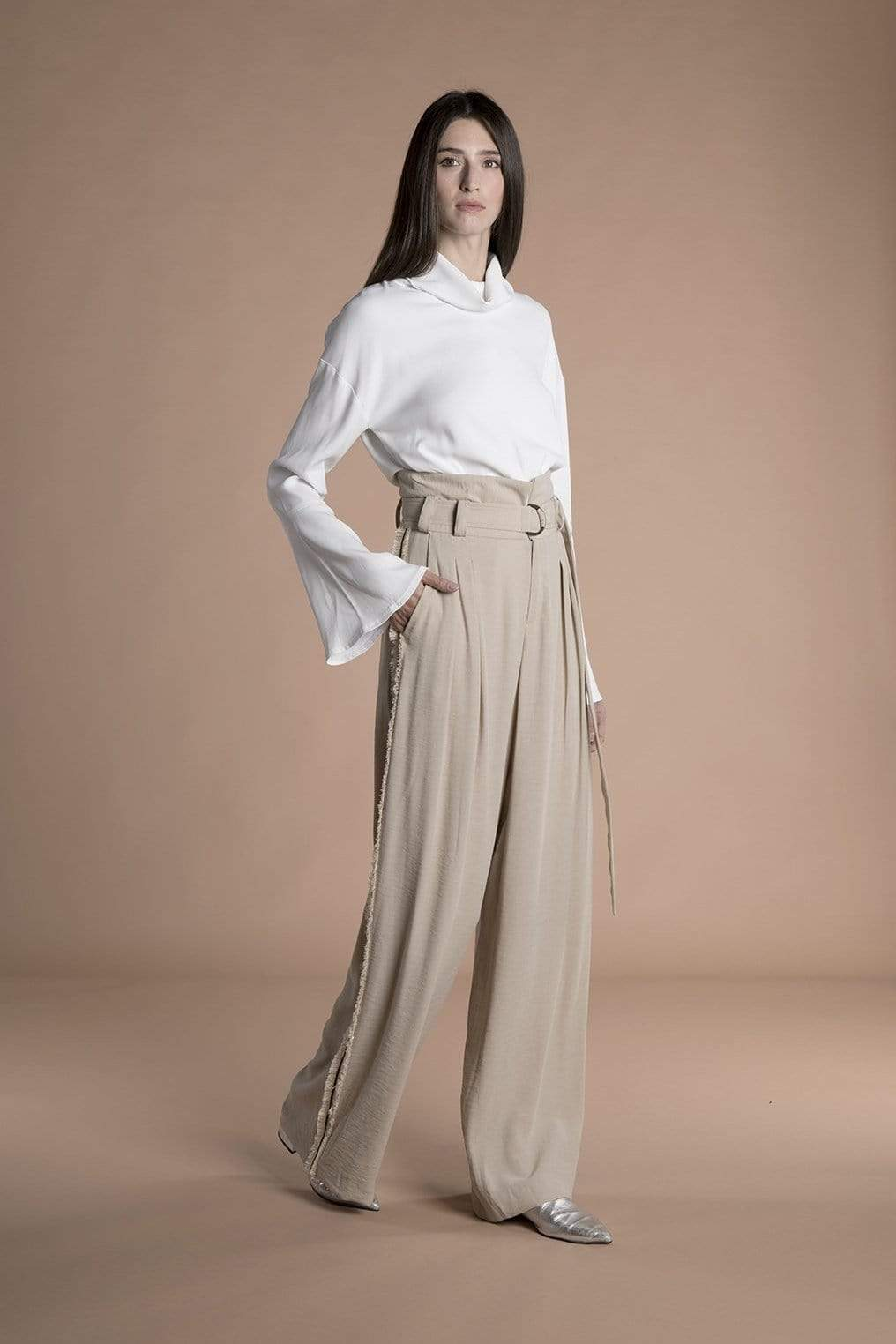 Souldaze Collection pant Linda Pants. Surplus Viscose. sustainable fashion ethical fashion