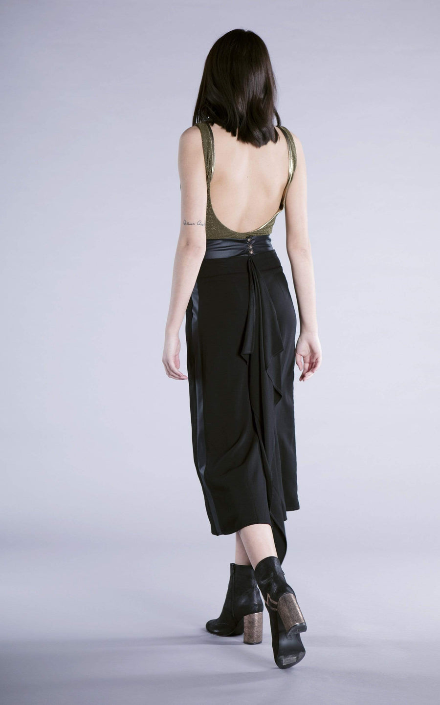 Souldaze Collection skirt Blanca Skirt. Surplus Viscose. sustainable fashion ethical fashion