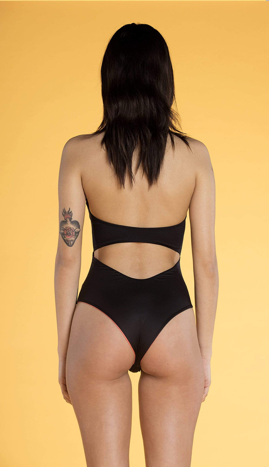 Souldaze Collection swim Knotty Swimsuit. Recycled Polyamide. sustainable fashion ethical fashion