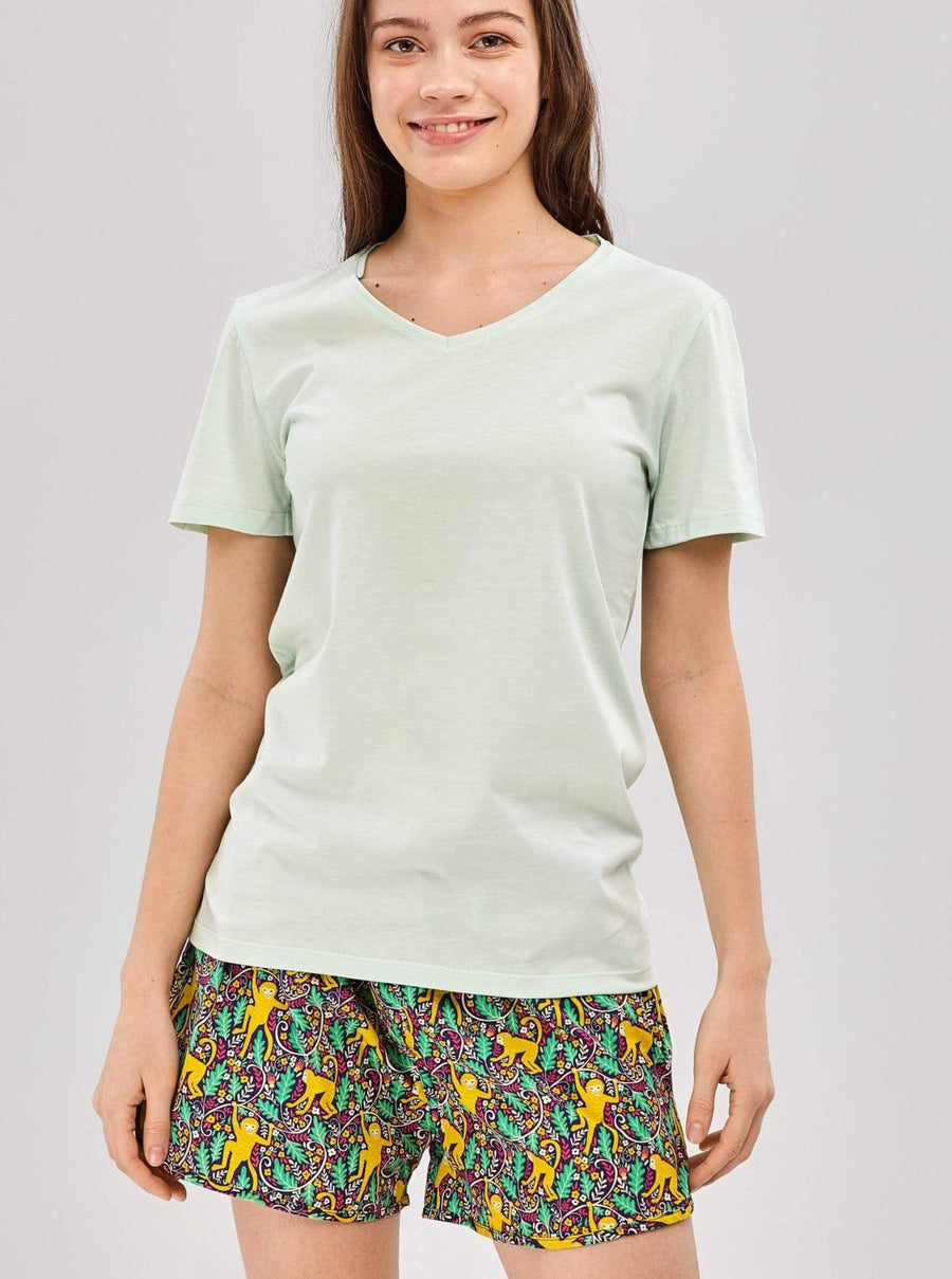 TATTINES shirts Green T-shirt sustainable fashion ethical fashion