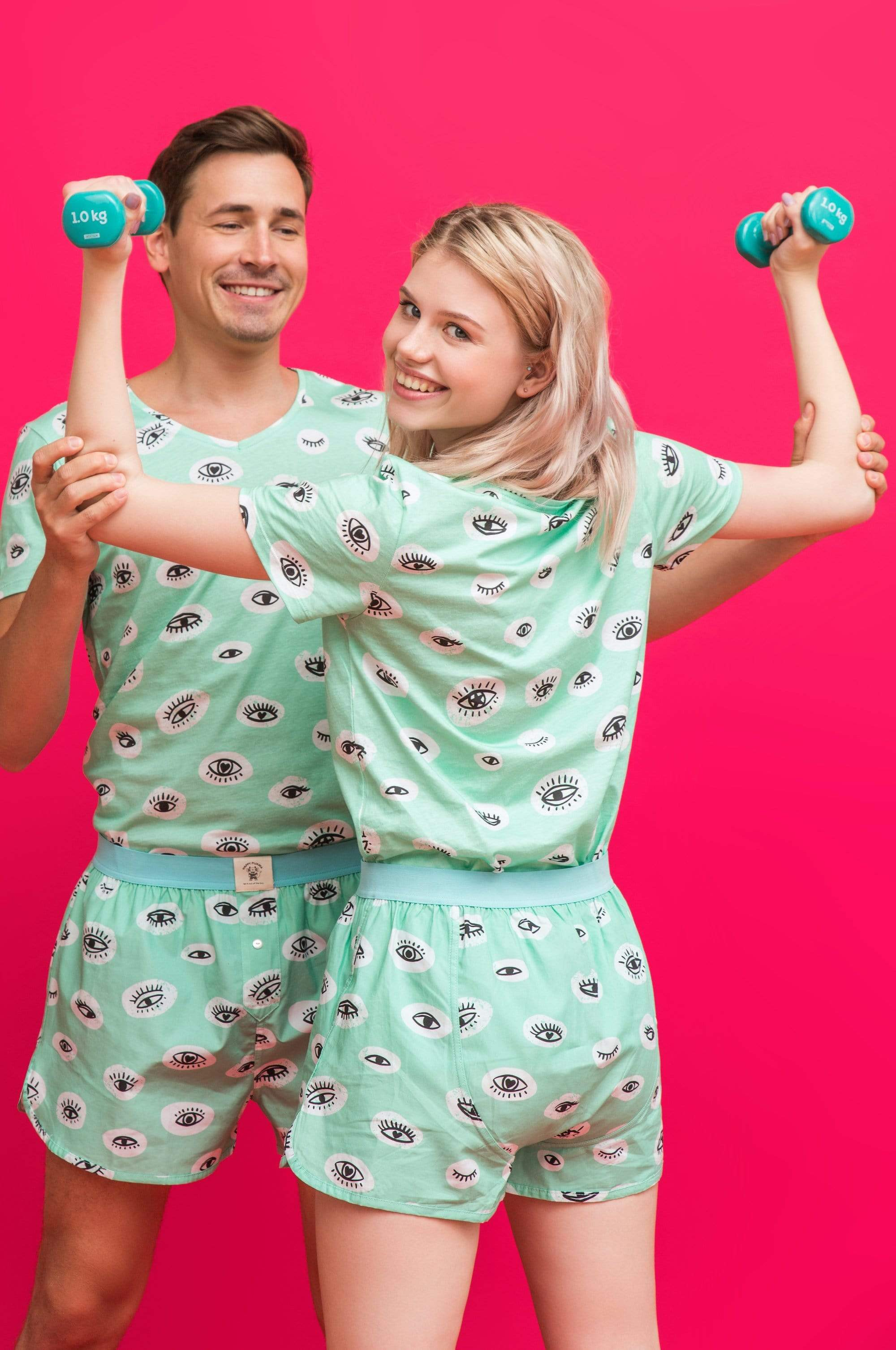 TATTINES pyjama de nuit & loungewear - These Eyes mode durable mode éthique