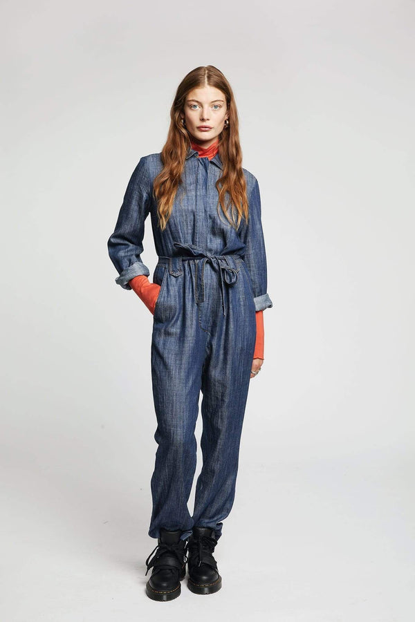 Yakit Rakit Ltd jumpsuits SHIVA Jumpsuit in Tencel and Linen. bærekraftig moteetisk mote
