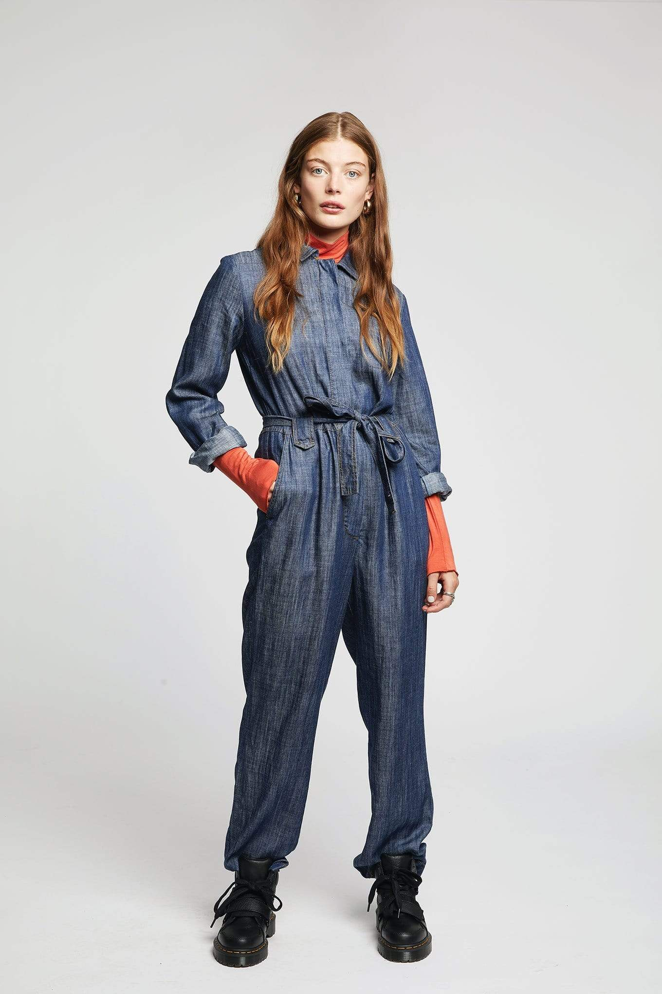 The Yakit Rakit Ltd jumpsuits SHIVA Jumpsuit in Tencel and Linen. sustainable fashion ethical fashion