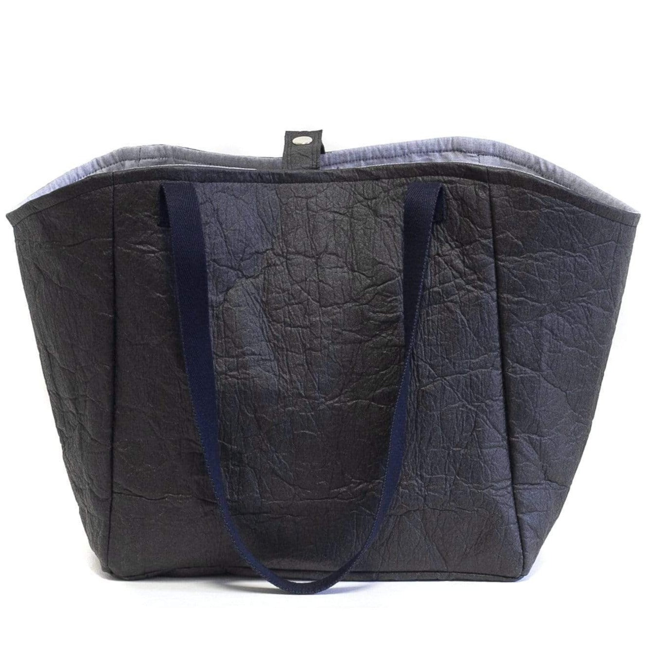 WWoW Sacs Sac Cabas Piñatex Noir Leymah sustainable fashion ethical fashion