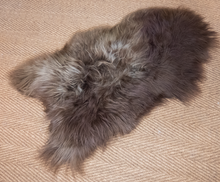 Sinead unique sheepskin rug