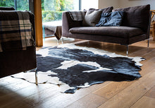 West Kerry Cowhide Rug | Black & White