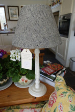 grey Irish tweed lampshade