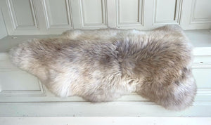 'Phoebe' Unique Sheepskin Rug