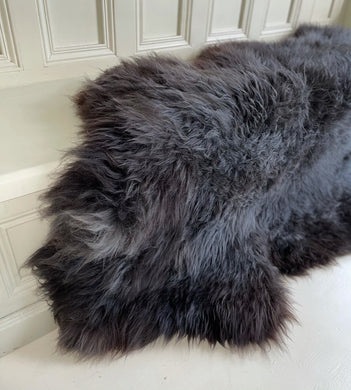 'Bella' Large Unique Sheepskin Rug
