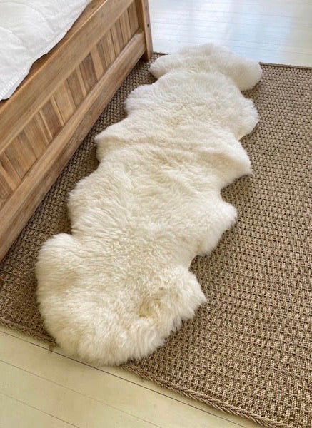 'West Clare' Double Sheepskin Rug