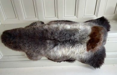 'Patch' Unique Sheepskin Rug