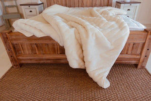 Natural wool Mattress Bed topper.  220 by 200 cms