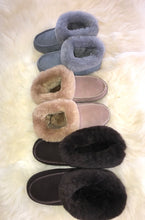 Brown Sheepskin Boot Slippers