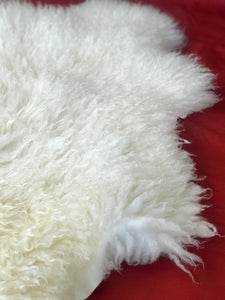 Michael Irish sheepskin rug