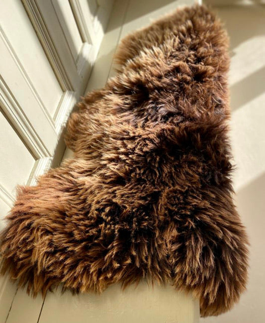 'Gina' Unique Sheepskin Rug