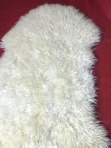 'Oisín' Unique Sheepskin Rug