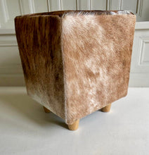 'Boffin' Cowhide Footstool in a few different colours