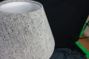 Irish tweed lampshade