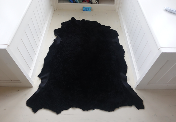 Unique Sheepskin Rug | Meara (120x95cm Wool Length 1cm)