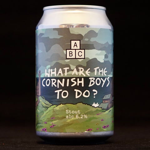 Alphabet - What Are The Cornish Boys To Do? - 6.2% (330ml)