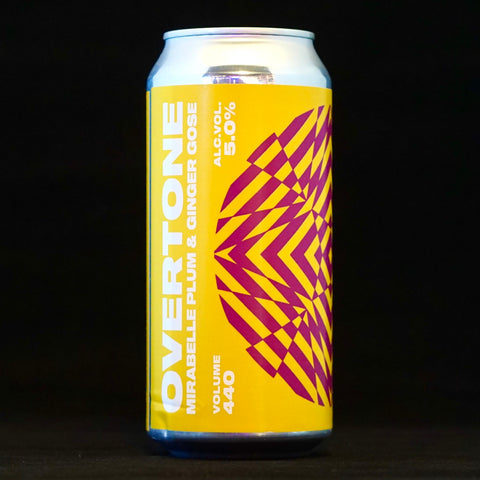 Overtone - Mirabelle Plum And Ginger Gose - 5% (440ml)