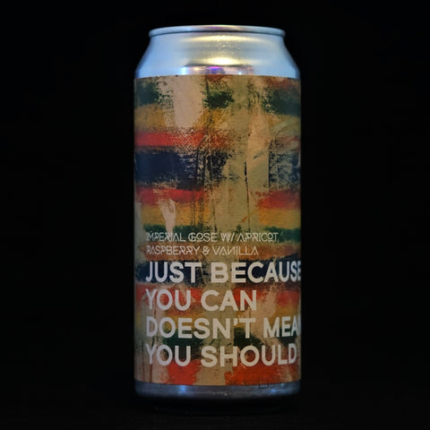 Boundary - Just Because You Can, Doesn't Mean You Should - 8% (440ml)