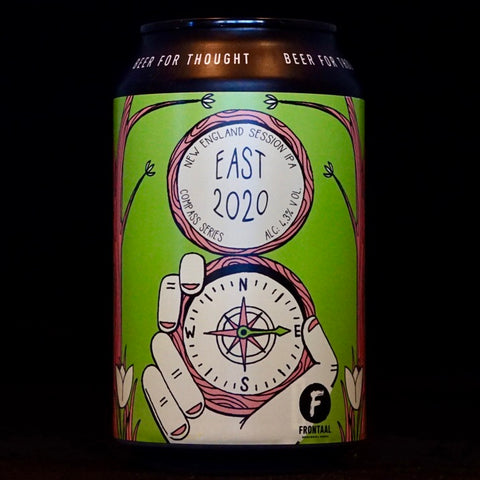 Frontaal - East 2020 - 4.3% (330ml)