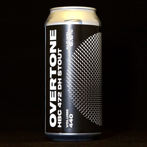 Overtone - HBC 472 DH Stout - 6.6% (440ml)