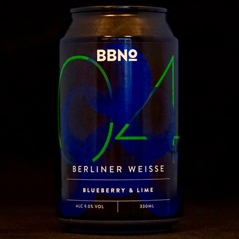 Brew By Numbers - 04 Berliner Weisse Blueberry & Lime - 9% (330ml)
