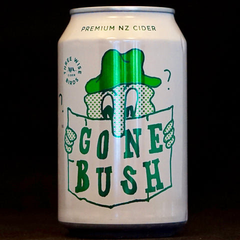 Three Wise Birds - Gone Bush - 5.5% (330ml)