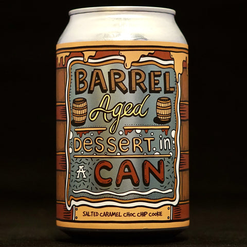 Amundsen - Barrel Aged Dessert In A Can: Salted Caramel Choc Chip Cookie - 11.5% (330ml)