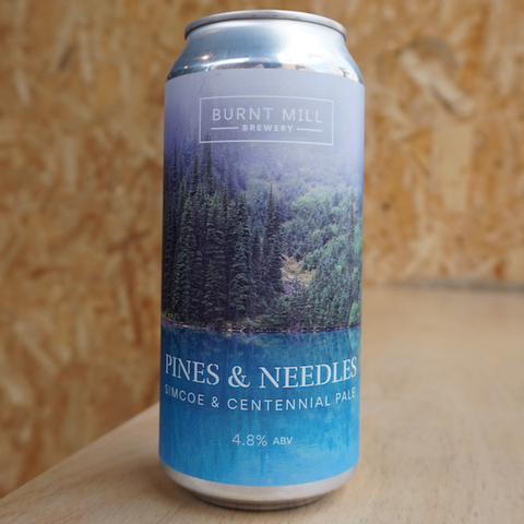 Burnt Mill - Pines and Needles - 4.8% (440ml)